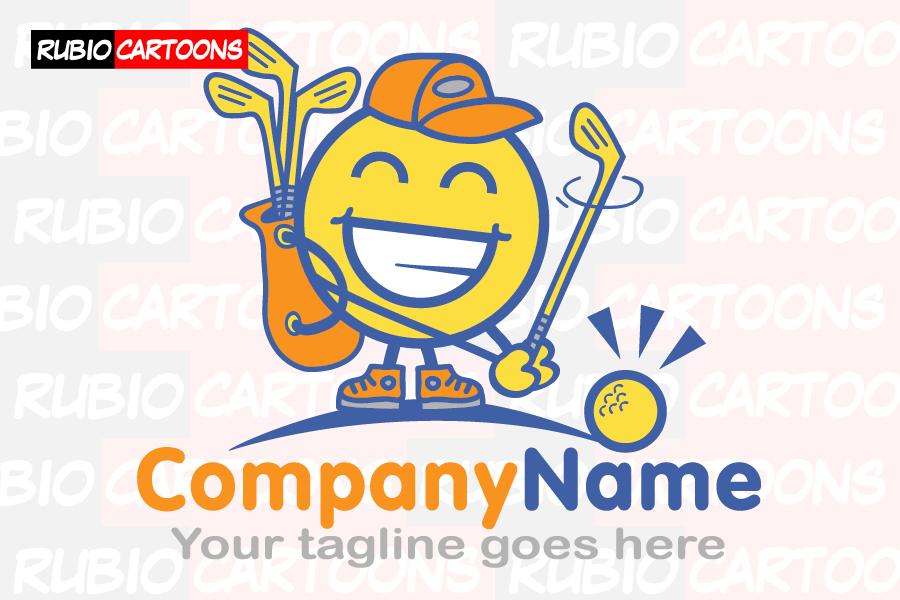 LOGOSTORE: FUNNY AND CARTOON GOLF LOGO
