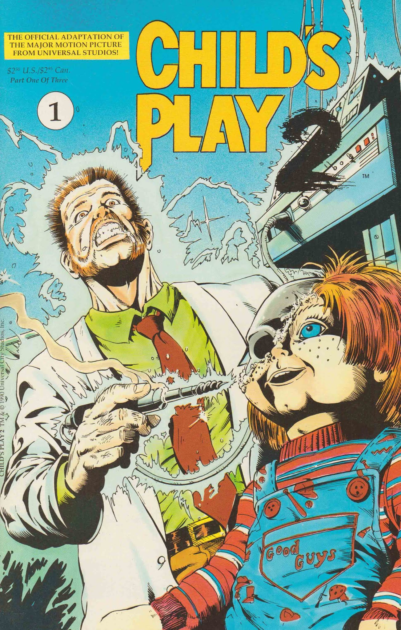 Childs Play 2 The Official Movie Adaptation 1 Page 1