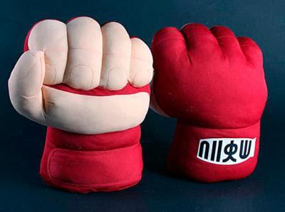 Guantes de Lucha Peluche Ryu de Street Fighter