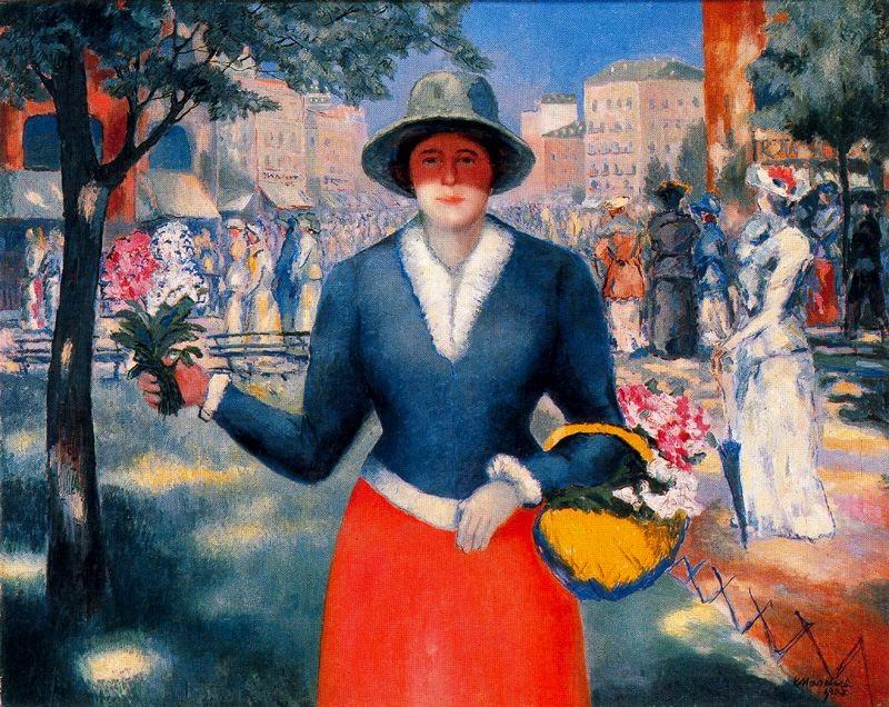 Flor de Manina - Kasimir Malevich e suas pinturas com elementos geométricos abstratos