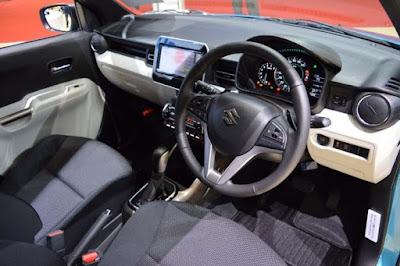 New 2016 Maruti Suzuki Ignis Stearing wheel
