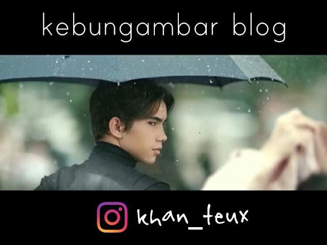Khan Teux bintang iklan axis bawa payung terbaru