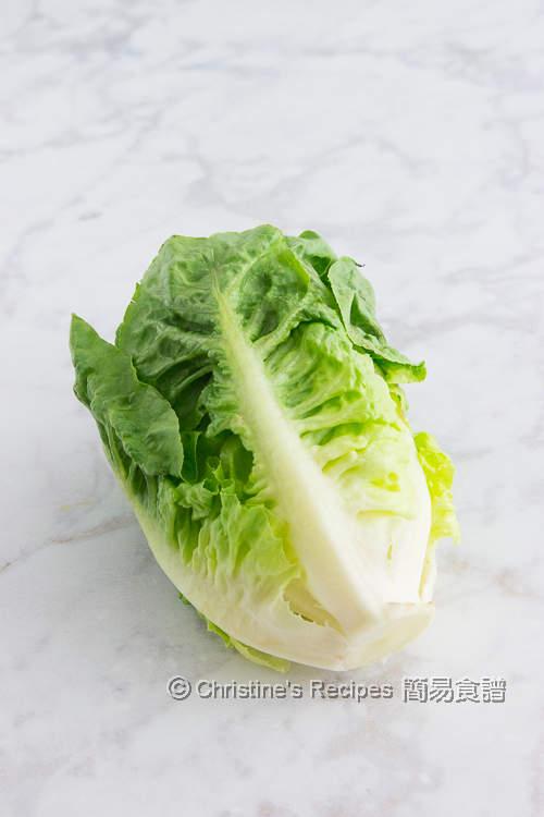 萵苣 (cos lettuce)