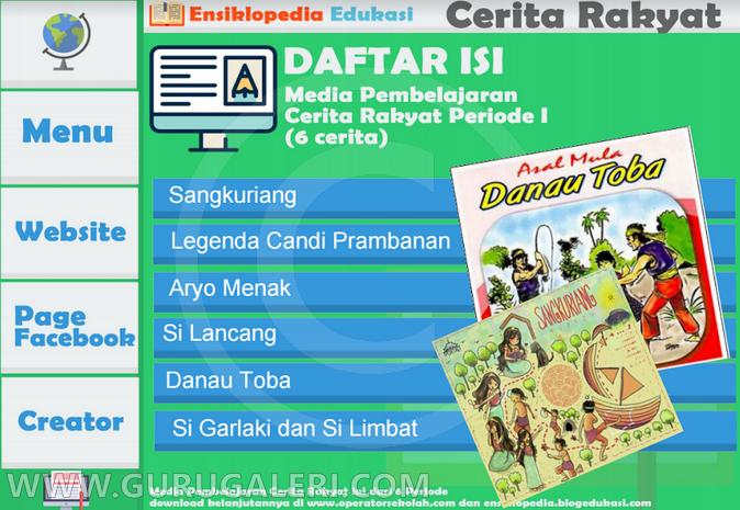 Media Pembelajaran Interaktif Cerita Rakyat Nusantara Format Power Point Info Bawel