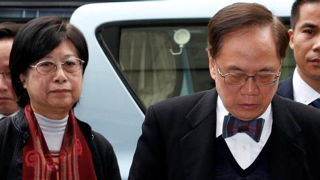 Donald Tsang: Hong Kong former leader sentenced to 20 months