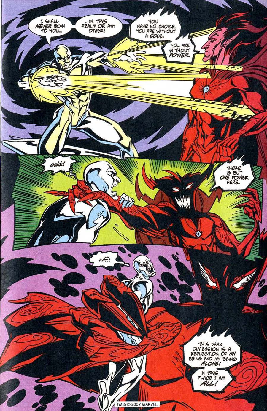 Read online Silver Surfer (1987) comic -  Issue #100 - 17