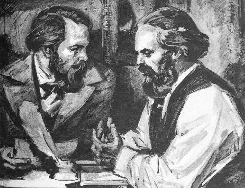 O Marxismo, Karl Marx e Engels