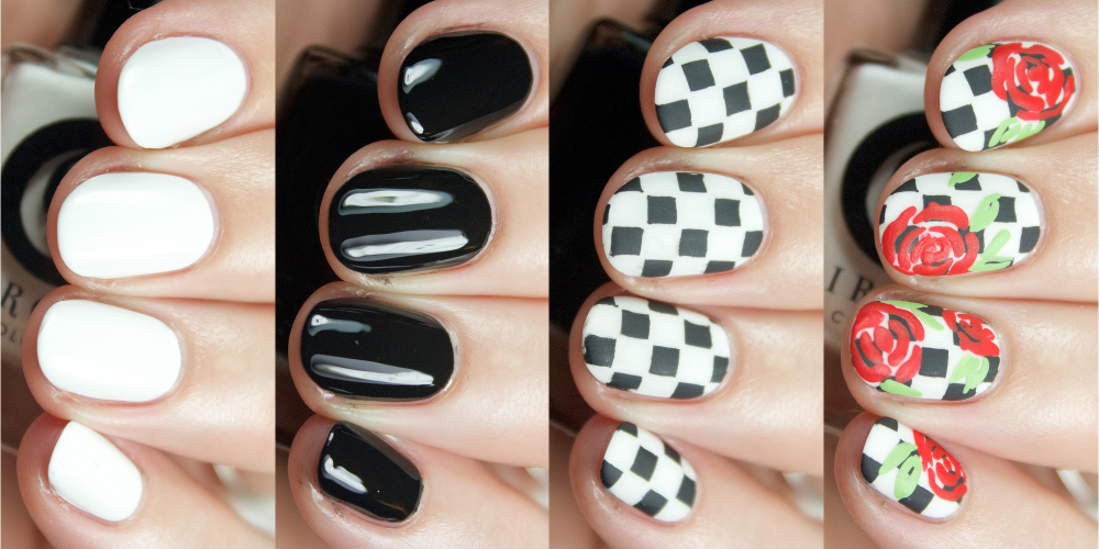 55f671570164c9 Cirque Colors x Pop-In   Nordstrom - Vans 50th Anniversary Celebration   Checkerboard Nail Art Kit