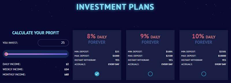 Инвестиционные планы Protonius