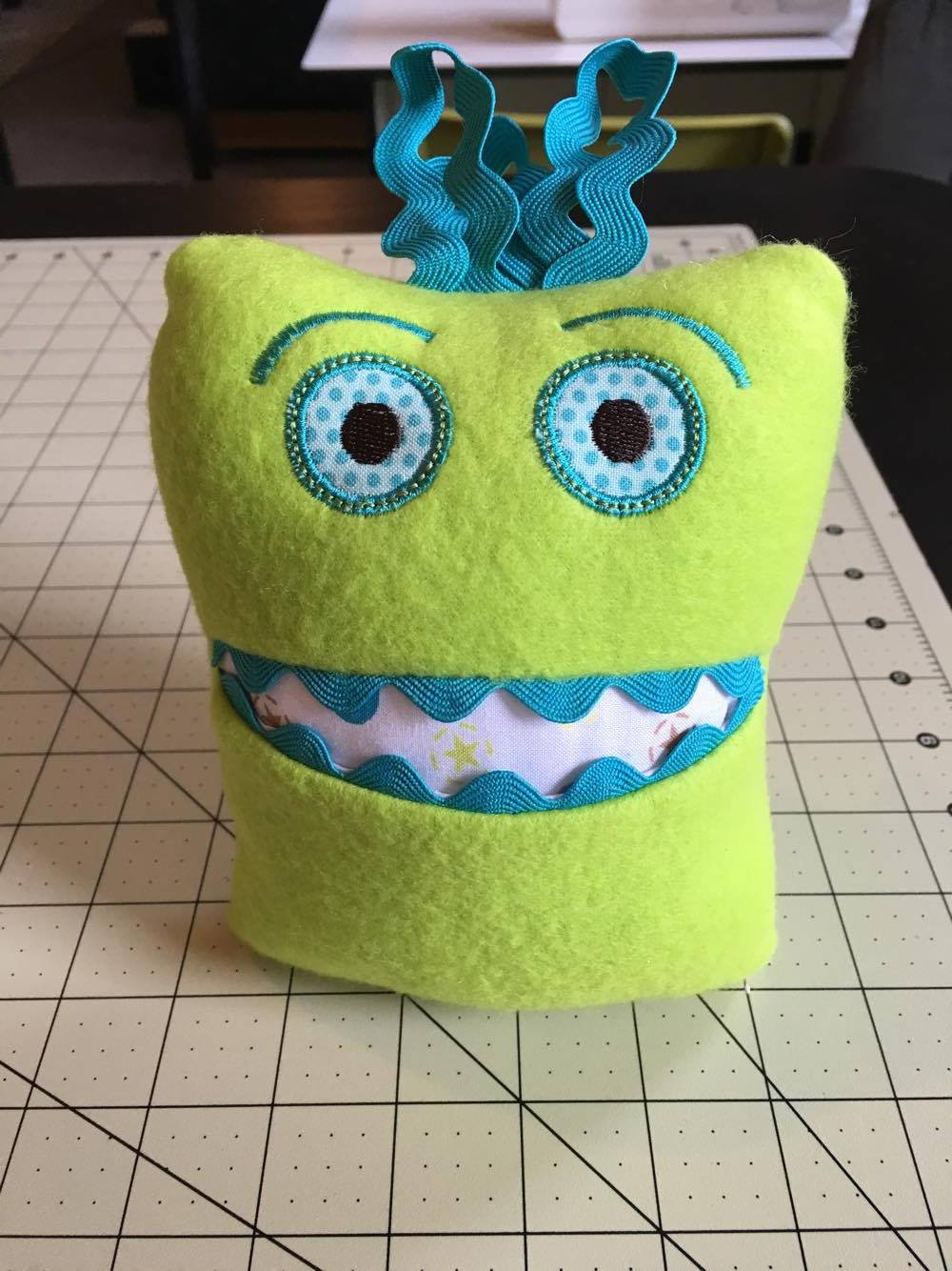 Embroidery Garden: Monster Tooth Fairy Pillow