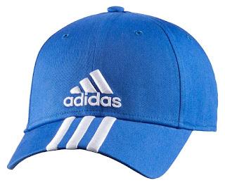 topi adidas biru