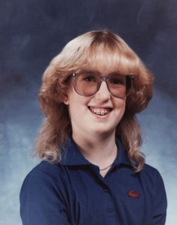 Pleasing Vintage Everyday 40 Funny Yearbook Photos From The 1980S And Short Hairstyles Gunalazisus