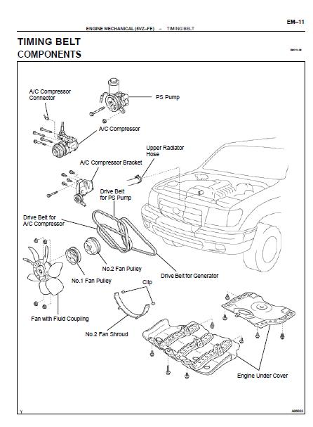 repair-manuals: Toyota Tacoma 2001 Repair Manual