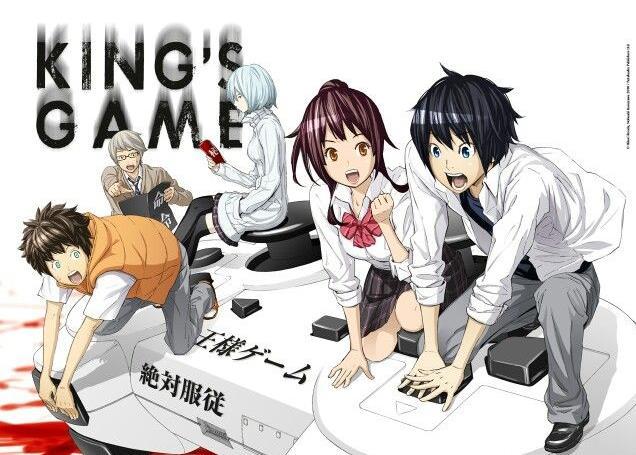 Ousama Game - Daftar Anime Gore Terbaik