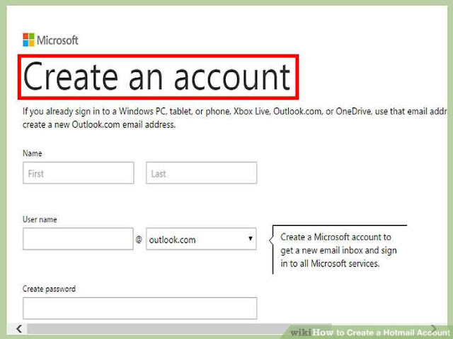 Create Hotmail Account - Hotmail.com