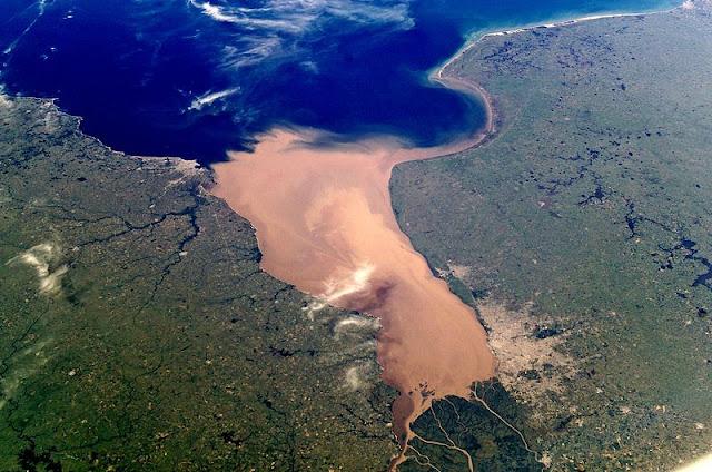 Rio de la plata estuary