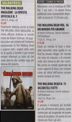 The Walking Dead, le novità della Saldapress