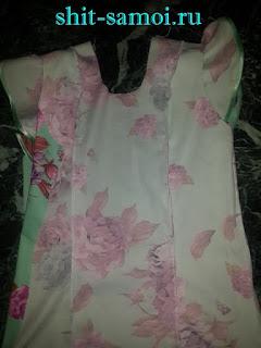 Боковые швы платья обработка