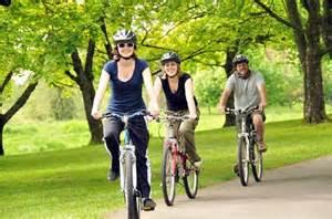 gambar aktifitas bersepeda