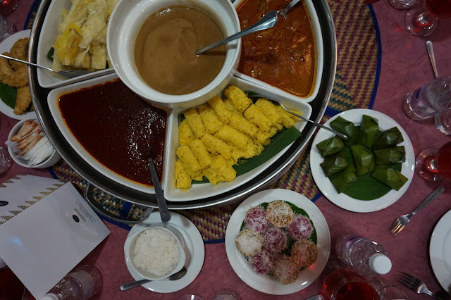 Hidangan daripada pihak Felda D'Saji