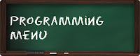 Menu simples usando métodos, laços e o comando switch em Java