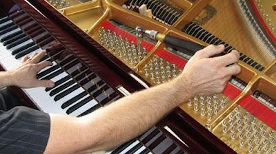 Bắt bệnh và sửa chữa đàn piano điện hiệu quả