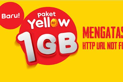 Mengatasi Http Url Not Found Indosat Yellow 2019