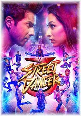 STREET DANCER 3D 2020 Hindi 720p WEBRip ESub Poster