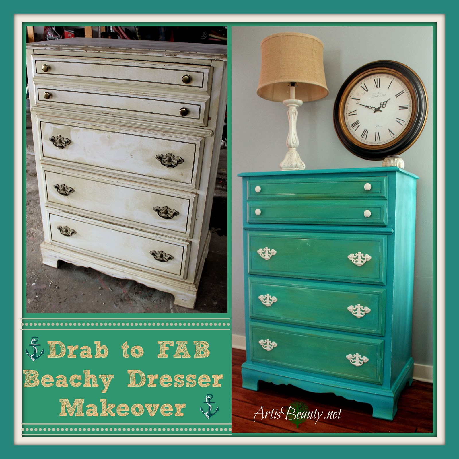 fixer upper diy dresser do it yourself shabby chic fun funky