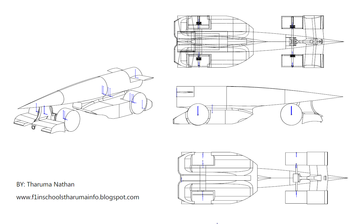 F1 In Schools Information By H Tharuma Car Design Concept Drawing