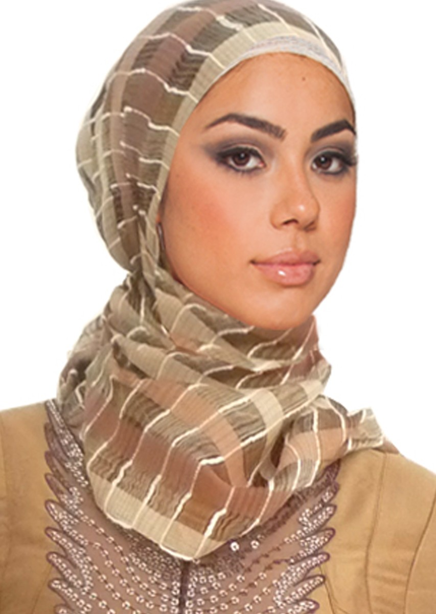 Ini Dia Gaya Hijab Tampil Beda Untuk Wajah Panjang d01c649b3b