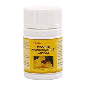 Tasly Miss Bee Propolis softgel capsule