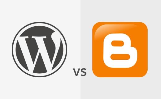 Pilih Blogger atau Wordpres