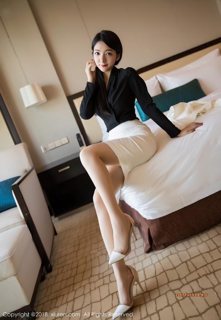 XIUREN No.1209 Xiao Reba Angela MrCong.com 034 wm - XIUREN No.1209: Người mẫu Xiao Reba (Angela小热巴) (52 ảnh)