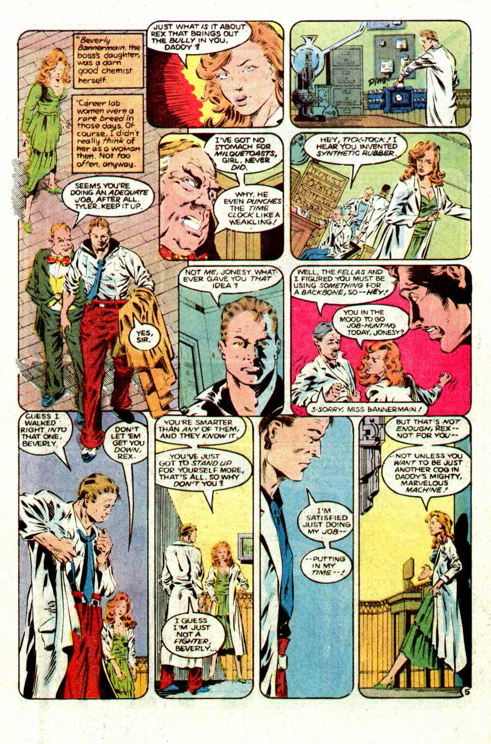 Read online Secret Origins (1986) comic -  Issue #16 - 26