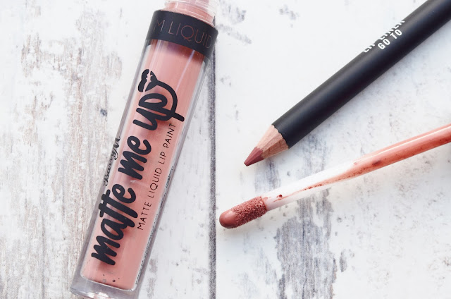 Barry M Matte Me Up Lip Kit in Go To