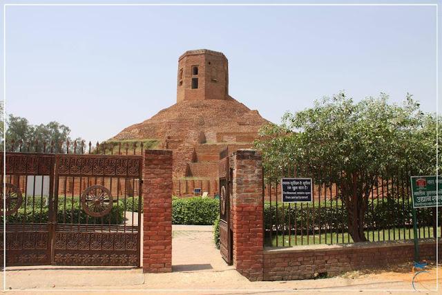 Chaukhandi Stupa, onde Buda encontrou seus primeiros 5 discípulos!