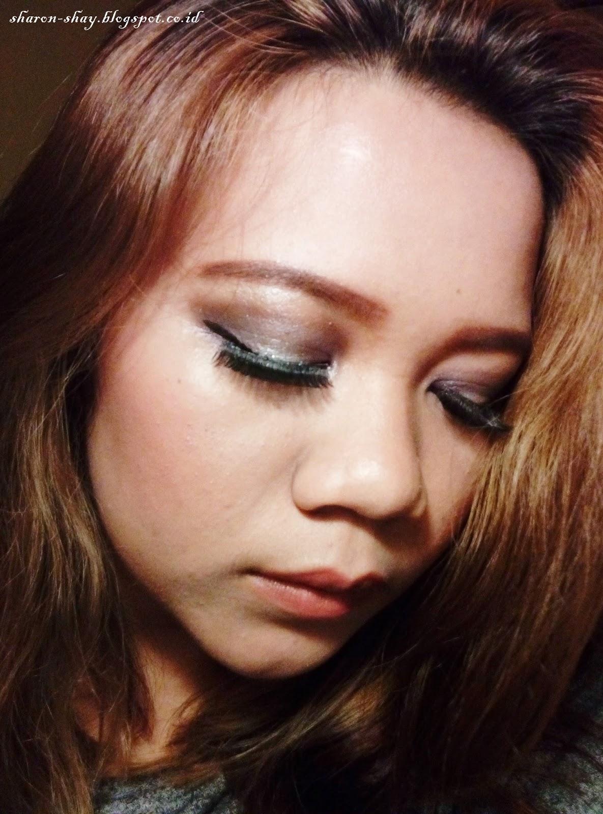 Sharon Shay FOTD No Pink For Dating Makeup Collaboration