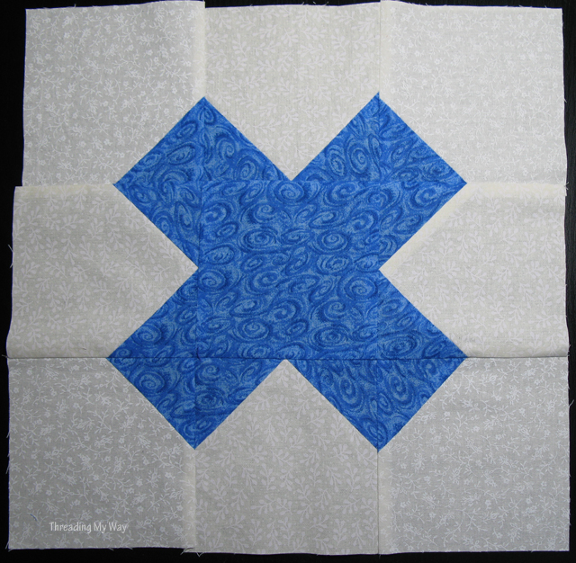 Quilt Blocks to Heal Violence -Tic tac toe blocks will be made into quilts and given to women and children who have suffered from domestic violence ~ Threading My Way