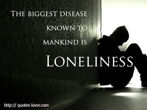 Quotes About Depression And Loneliness