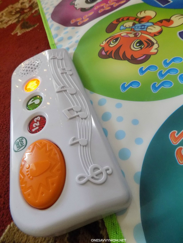 Leapfrog learn and groove musical table recall