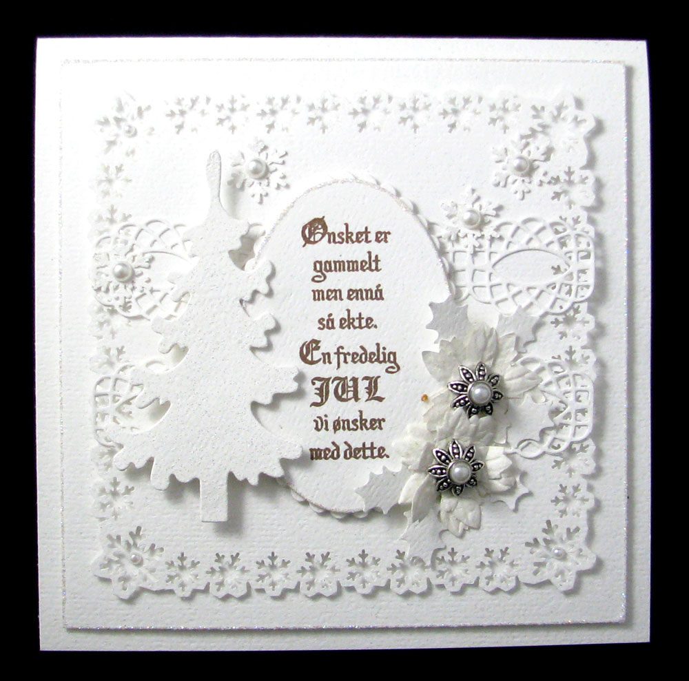 Wild Orchid Crafts: I\'m dreaming of a white Christmas...