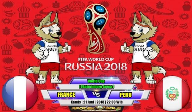 Prediksi France vs Peru 21 Juni 2018