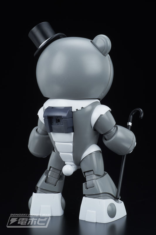 HGBF 1/144 Papagguy [Daddy Beargguy] Sample images by Dengeki Hobby