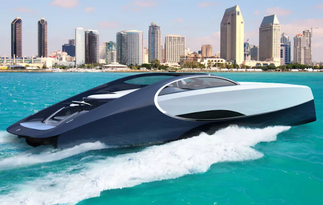 The Bugatti's $2.2 Million Super Yacht (Cruising On The Beach)