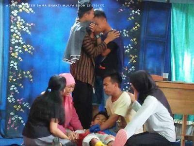SMA Bhakti Mulya Suoh Adakan Pementasan Teater
