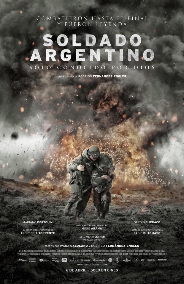 Soldado argentino, solo conocido por Dios [2016] [DVDR] [NTSC] [Latino]