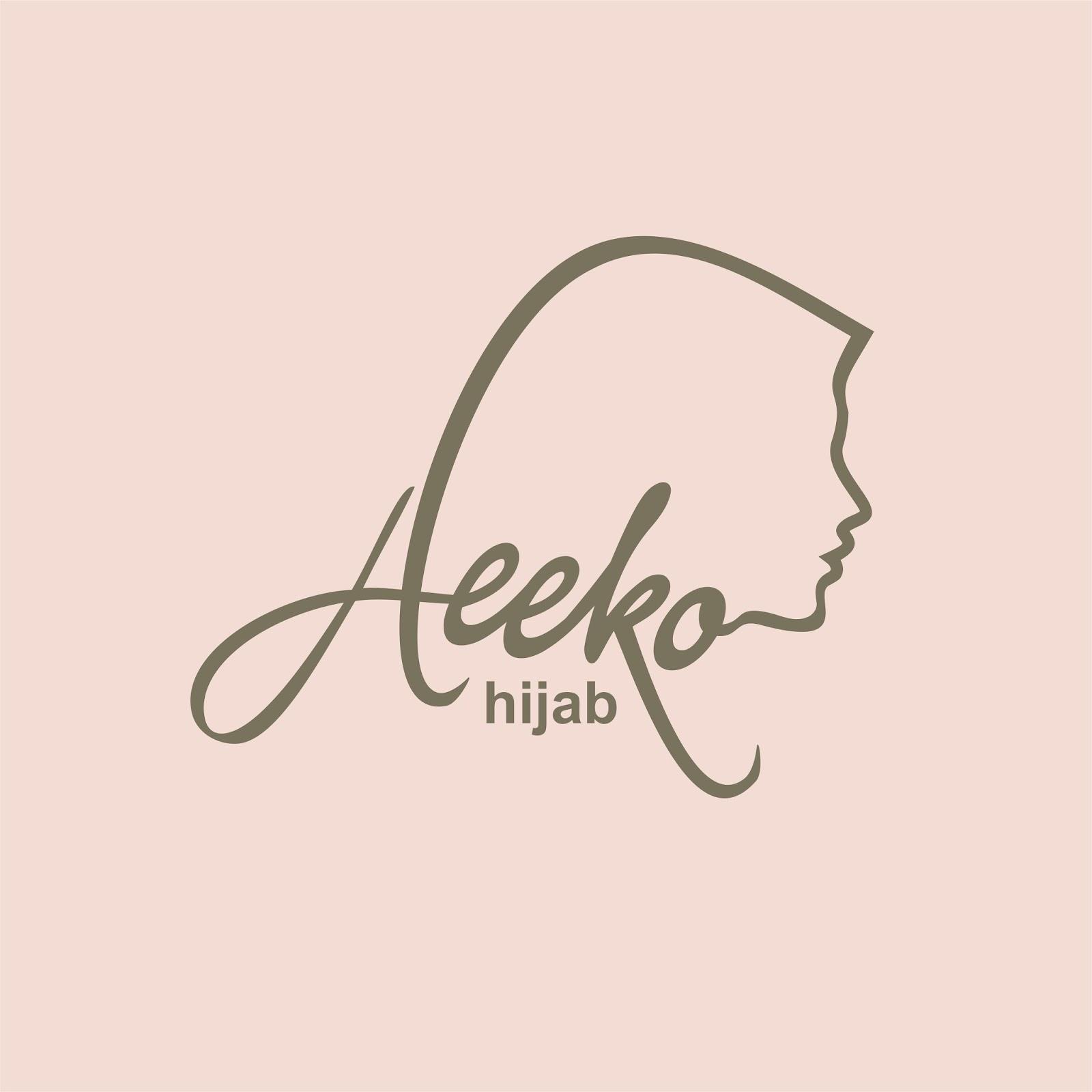 DESAIN LOGO BISNIS HIJAB, AEEKO - Kebun Design: Branding & Graphic