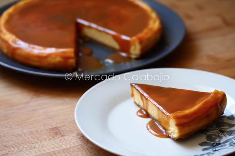 Tarta De Queso Y Caramelo Salado Salted Caramel Cheesecake Receta Mercado Calabajío