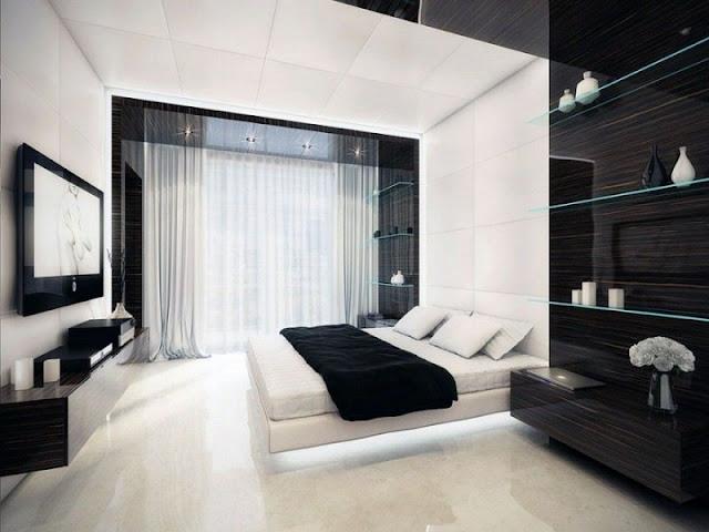 Bedroom Interior Design: Minimalist VS Light Effect Bedroom Interior Design: Minimalist VS Light Effect 46735b37a8525a7446d9df68925c16ef